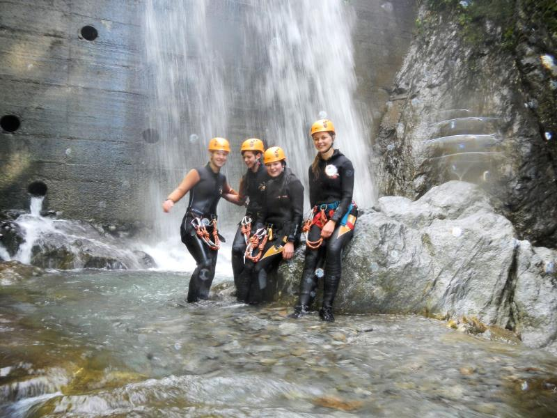 Canyoning con Guide