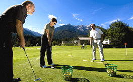 Golf School con Head Pro Mark Stuckey - vista della Jauken